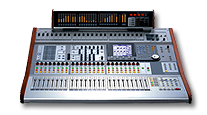 picture of mixing board